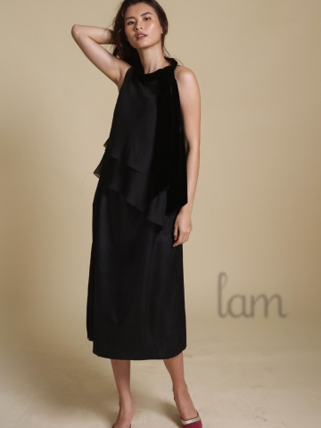 Lam Midnight Romance Dress